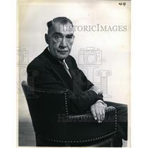 1953 Press Photo Playwright Robert E. Sherwood - nee48080