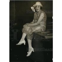 1925 Press Photo Renee Larondeau of Los Angeles