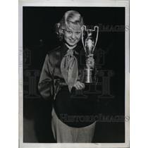1933 Press Photo Sale Jensen elected Sweetheart of Rodeo in LA Calif - nes28589