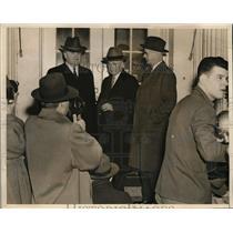 1941 Press Photo Pres. of US Steel, Bethleham Steel, Younstown Steel, coal issue