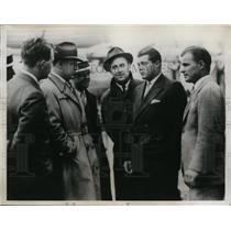 1934 Press Photo W Lawson Little,Walker Cup golf, Johnny Goodman San Francisco r