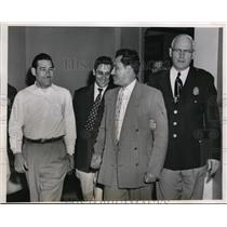 1954 Press Photo Rabaco Torres, Gonzalo Lebron Stotomayor, Angel Luis Medina