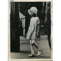 1932 Press Photo Princess Shigeko Teru Eldest daughter of Emperor of Japan.