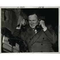 1934 Press Photo Theater Producer Isaac Van Grove - nee55254