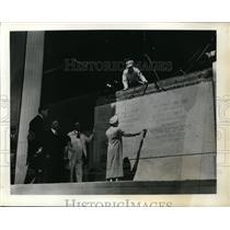 1939 Press Photo Queen Elizabeth, Supreme Court, King George, PM Mackenzie King