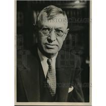 1933 Press Photo Iowa Jude Charles C. Bradley, Beating Victim - nee53968