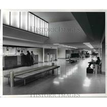 1970 Press Photo Burke Lakefront Airport