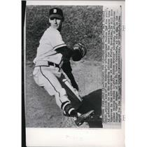 1949 Press Photo Pitcher Mel Parnell Of Boston Red Sox To Start All Star Game
