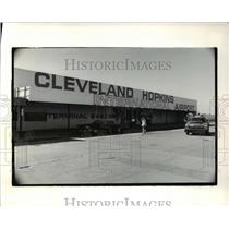 1976 Press Photo Cleveland Hopkins Airport - cva47216