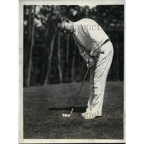 1932 Photo Wiffy Cox during Massachusetts Open Oyster Harbor Club