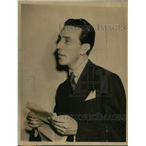 1940 Press Photo Mr Ramon Beteta Under Secretary of Foreign Relations Mexico