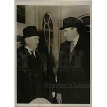 1939 Press Photo Richard Bennett Former Prime Minister of Canada & Sir Reith