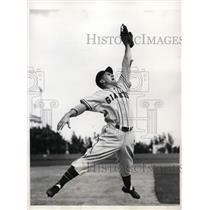 1946 Press Photo Miami Fla Giants George Hausman at Spring training - nes30854