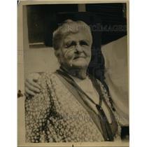 1934 Press Photo Swiss Pioneer Mary A. Margnard - nee62269