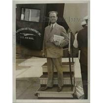 1931 Press Photo Senor Rafael Larco Herrera Peruvian Political Leader.