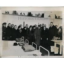 1934 Press Photo Hohenlychen German Health Reort, Dr. Sahm, Councillor Spikewok