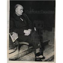 1933 Press Photo Per Albin Hansson Prime Minister of Sweden - nee62933
