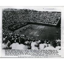 1927 Press Photo Forest Hills Davis Cup tennis Tony Trabert, Vic Seixas