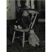 1919 Press Photo Dolls named Uncle Harrt & Bobby