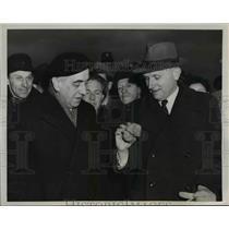 1949 Press Photo Berlin Newly elected Mayor of Berlin Prof. Ernst Reuter