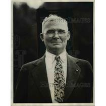 1931 Press Photo James H.Breedlove Dean of Union Pacific Conductors - nee70269