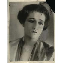 1925 Press Photo Diana Miller Film actress, Weds George Meford, Producer