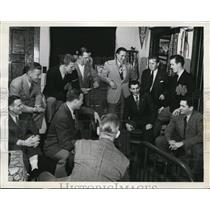 1946 Press Photo South Bend Indiana Joe Totten, Fred Earley, Don Juster