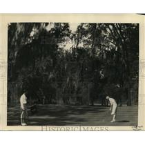 1929 Press Photo Edgewater Gulf golf course near Biloxi Miss for Pan Am golf