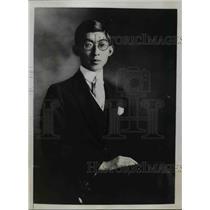 1934 Press Photo Prince Yasuhito Chichibu eldest brother of Japanese Emperor