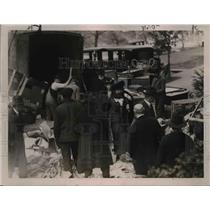1921 Press Photo Moving Day for the President and Mrs. Wilson in Washington.