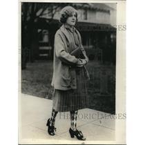 1925 Press Photo Miss Irene Dickson Student University of Washington