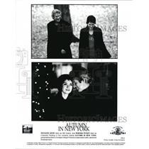2000 Press Photo Joan Chen Richard Gere Winona Ryder Autumn In New York