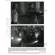 Undated Press Photo Farnkle Janssen Treat Williams Deep Rising - cvp39527