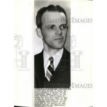 1942 Wire Photo C. Yates McDaniel, Associated Press Staff member - cvw05415