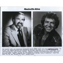 Undated Press Photo Ralph Emery Hosting Nashville Alive - cvp32828