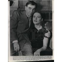 1944 Wire Photo Busby Barkeley, stage and screen director with his bride Myrna