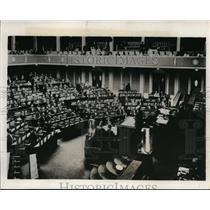 1932 Press Photo general view as Japanese Diet met in session in Tokyo