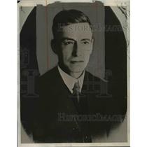 1932 Press Photo Dr Daniel Salamanca President of Bolivia - nee80610
