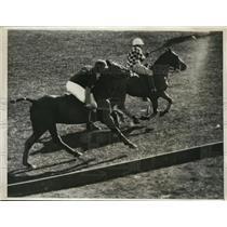 1931 Press Photo Earl Hopping at polo San Carlos vs Olympic at Del Monte CA