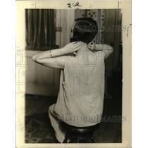 1926 Press Photo Hazel Hurd Beauty Doctor