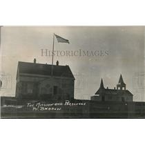 1924 Press Photo The Mission & Parsonage at Point Barrow Alaska