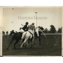 1929 Press Photo Yale defeats Pennsylvania Military College polo team 14-0