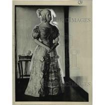 1923 Press Photo Sarah Childness Polk in a fashion dress