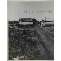 1937 Press Photo Main street of town of Platinum Alaska - nee78165