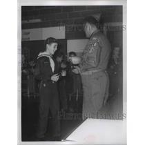 1960 Press Photo Scout RIchard ? - nee66865