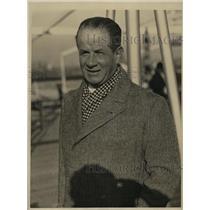 1933 Press Photo Colonel AA Carlo Craziani Di Sansepolcro aide se camp to Italy