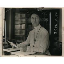 1920 Press Photo Mrs Annette Abbott Adams Assistant Attorney General Dept Justic