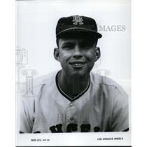 1965 Press Photo Don Lee of Los Angeles Angels - cvs03572