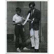 1964 Press Photo Bobby Trivett and Dan Tracy Aviation Instructor - cva76836