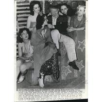 1938 Wire Photo Comedian, Joe Yule, father of Mickey Rooney - cvw06511